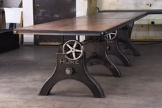 Conference Table Gallery – Vintage Industrial Furniture