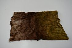 Mulberry Silk Cocoon Sheet for Felting Hand Dyed Brown Gold Mix 12393 Mulberry Silk, Texture Art, Needle Felting, Fiber Art, Brown, Fabric, Gold, Tejido, Tela