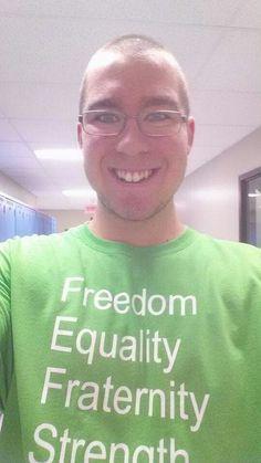 2e année 7e semaine 21e jour à fierbourg dep soutien informatique =D Freedom, Equality, Fraternity, Strength, Love & Fun!!! =D