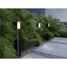 Bollard Lighting, Home Lighting, Outdoor Lighting, Interior Architecture Drawing, Landscape Architecture, Lanscape Design, Luminaire Led, Landscape Lighting, Outdoor Areas