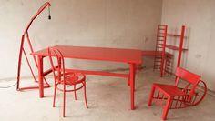 Nomadic Designer Makes Cool Furniture From Trash
