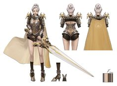 Kai Fine Art is an art website, shows painting and illustration works all over the world. Female Character Concept, Character Modeling, Game Character, Character Sheet, Special Characters, Fantasy Characters, Female Characters, Female Armor, Female Knight
