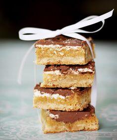 Creme de la Crumb- Double Chocolate Butterscotch Bars