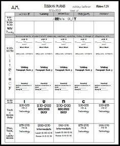 infant lesson plan templates