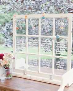 46 wow-worthy seating card display ideas #marthastewartweddings
