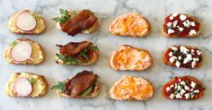 Four Great Crostinis | Recipe