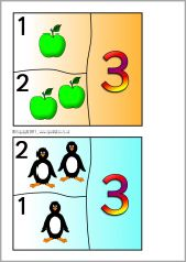 Number Bond Jigsaws for Numbers - SparkleBox Subtraction Strategies, Teaching Math, Maths, Number Bonds, Education Architecture, Adding And Subtracting, Math Numbers, Common Core Math, Number Sense
