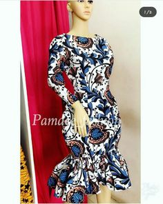 Latest beautiful collection the best plain and patterned ankara collections there are in the African print ankara fashion world African Print Dresses, African Print Fashion, Africa Fashion, African Wear, African Fashion Dresses, African Clothes, Ankara Fashion, African Prints, African Women