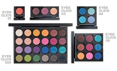 KIKO Infinity Eyeshadow [CLICS] System™ http://www.magi-mania.de/kiko-infinity-eyeshadow-clics-system-refill-palette/