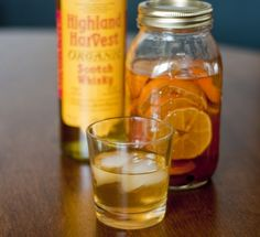 Clementine and Cinnamon Infused Scotch