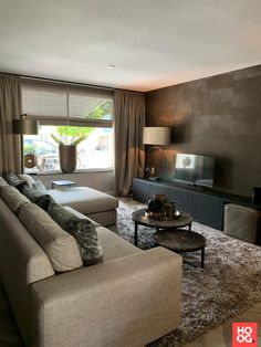 Project Vlaardingen - High ■ Exclusive living and garden inspiration. Cozy Living Rooms, Living Room Interior, Apartment Living, Home Interior Design, Home And Living, Living Room Decor, Living Room Inspiration, Home Decor Trends, Living Room Designs