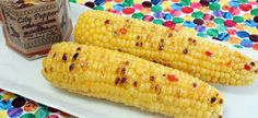 Grilled Glazed Corn on the Cob
