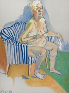 Alice Neel Self-Portrait | National Portrait Gallery Alice, New York Art, Whitney Museum, National Portrait Gallery, Museum Of Fine Arts, Art Museum, Metropolitan Museum, Art History, Oil On Canvas