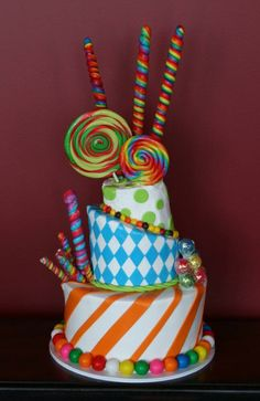 Crooked Candy Cake Can Be Purchased And Brought In Or We