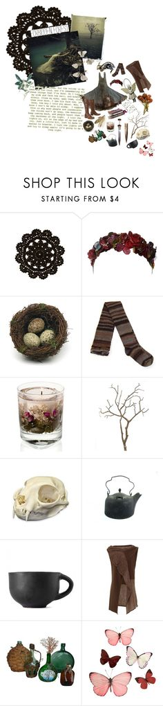 """Forbidden forest"" by unapersonacomun ❤ liked on Polyvore featuring Her Curious Nature, Zone, Puji, Crea Concept and H&M"
