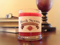 Heaven's Wish  Book Inspired Candle  Hand by BookScentsCandles