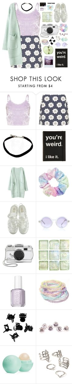 """Wild- Troye Sivan"" by charcharr ❤ liked on Polyvore featuring Topshop, Margaret Howell, Sunettes, Kate Spade, Essie, H&M, Eos, Forever 21 and Dorothy Perkins"