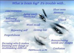 Brain fog..one of my most favorite symptoms of dysautonomia...or not :/