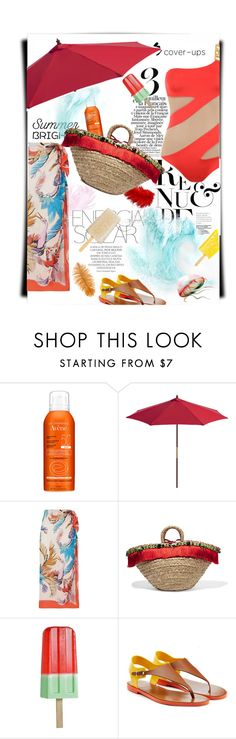 """""""Burnt out"""" by theitalianglam ❤ liked on Polyvore featuring Avène, Magdalena, Emilio Pucci, Dolce&Gabbana, Sergio Rossi and coverups"""