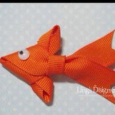 RIBBON FISH FOR FISH FRY DECORATIONS.