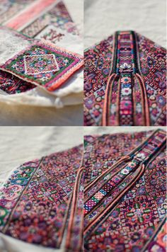 Embroidered bonnet of Horehronie, Slovakia Embroidery On Clothes, Folk Embroidery, Embroidery Patterns, Folk Costume, Costumes, Lace Making, Rug Hooking, Old Women, Textile Art