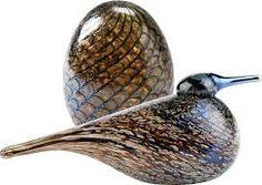 2013, Oiva Toikka, Prosaisti, SSKK Decorative Glass, Glass Birds, Scandinavian Style, Glass Art, Pottery, Earth, Antiques, Brown, Projects