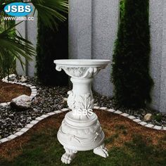 Small Round Garden Marble Table www.jsbluesea.com info@jsbluesea.com whatsapp|wechat:0086-13633118189 #table #marbletable #roundtable #gardentable #jsbsmarble #jsbsstone #JSBS #renovation #restoration #marbledecor #housedecor #gardendecor Marble Columns, Stone Columns, Marble Carving, Stone Carving, Marble Fireplaces, Fireplace Mantels, Stone Fountains, Stone Veneer, Garden Table