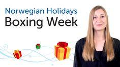 Norwegian Holidays - Week after Christmas- Romjul