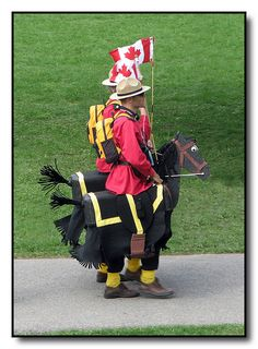 The Famous Royal Canadian Mounted Police Horse Costumes, Halloween Costumes, Canadian Costume, I Am Canadian, Canadian Humour, Canadian Horse, Canadian Things, Police Test, Meanwhile In Canada
