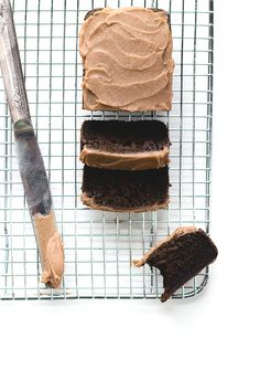 "Paleo ""Chocolate"" Carob Bread with Date Caramel Frosting"