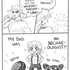 Jojo's Bizarre Adventure, Manga, Jojo Parts, Jojo Anime, Sad Pictures, Jojo Memes, Good Good Father, Jojo Bizarre, Father And Son