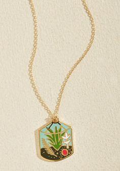 Plant Accordingly Necklace