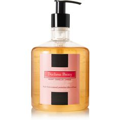 LAFCO House & Home Duchess Peony True Liquid Soap, 445ml ($32) ❤ liked on Polyvore featuring beauty products, bath & body products, body cleansers and colorless