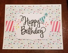 Birthday Cheers, Birthday Cards, Washi Tape Cards, Diy And Crafts, Paper Crafts, Stampin Up Paper Pumpkin, Pumpkin Cards, Stamping Up, Rubber Stamping