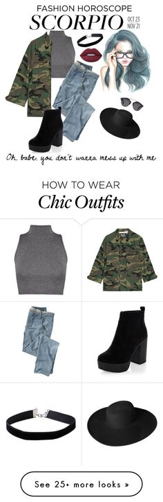 """""""Don't mess up with Scorpio chics"""" by gabrielaheleodorogarcia on Polyvore featuring Wrap, NLST, New Look, Miss Selfridge, Lime Crime, Christian Dior, Dorfman Pacific, fashionhoroscope and stylehoroscope"""