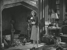 Rebecca Manderley Bedroom | Mrs. De Winter's new bedroom at Manderley which, as Mrs. Danvers ...