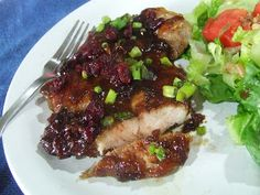 Cherry Chipotle Pork Chops   Cassidy's Craveable Creations