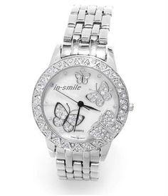 Butterfly Watches For Women | steel butterfly watch for women, View 2011 fashion watches for women ...