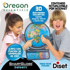 Juguete OREGON SMART GLOBE INFINITY de Diset Precio 123,32€ en IguMagazine #juguetesbaratos