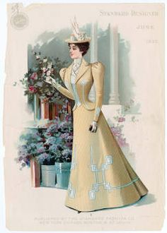 ZAN ACT II BEGINNING. Women 1897-1899, Plate 043 :: Costume Institute Fashion Plates