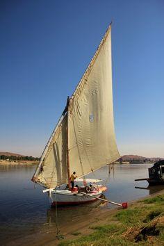 Sailing down the Nile on a Felucca - Egypt bucket list