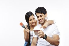 Couple choosing color from color swatch and smiling Swatch, Things To Come, India, Stock Photos, Couple Photos, Couples, Color, Image, Couple Pics