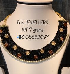Gold Earrings Designs, Gold Jewellery Design, Bead Jewellery, Kerala Jewellery, Necklace Designs, Beaded Jewelry, Gold Jewelry Simple, Necklace Set, Gold Necklace