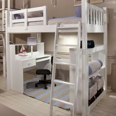 HAMMOND KIDS | Single Loft Bed - Furniture - 5rooms.com