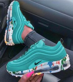 Jul 2019 - -Nike Air Max 97 Premium NEXT STOP: LEGENDARY STYLE. At its inception, the full-length Max Air unit and innovative lacing system of the Nike Air Max 97 brought something entirely new to the Air Nike Air Max, Nike Air Shoes, Air Max 97, Kd Shoes, Nike Socks, Jordan Shoes Girls, Girls Shoes, Shoes Women, Cute Sneakers