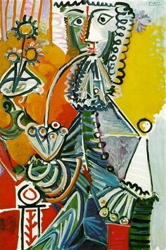 Musketeer with pipe Pablo Picasso
