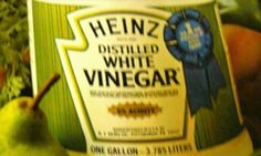 Here is a really old Heinz Vinegar label from the