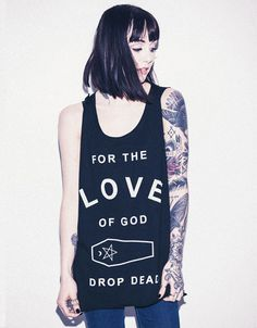 For The Love of God Vest, Drop Dead Clothing