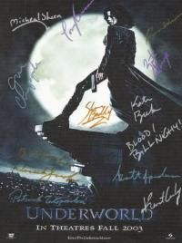 Check out  WWW.ALLAUTOGRAPH.COM for the Underworld  Autographed Poster!!!