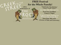 Greek in the Street @ Frogtown Square
